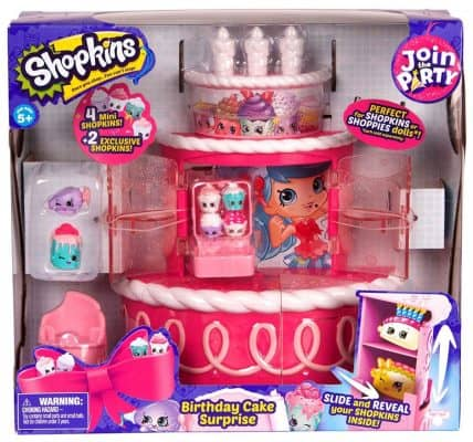 Shopkins Join the Party Playset – Birthday Cake Surprise