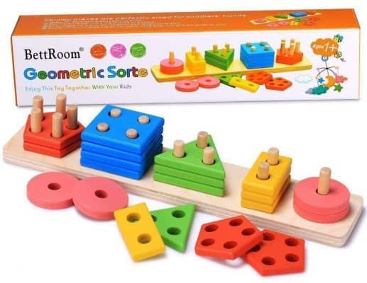 BettRoom Wooden Educational Preschool Toddler Toys