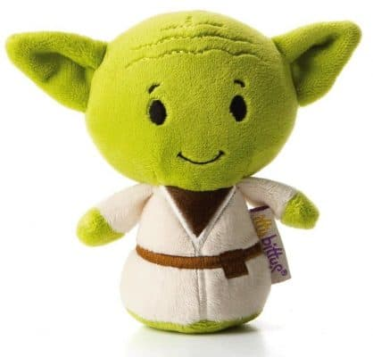 Hallmark itty bitty YODA Stuffed Animal Itty Bittys Back to School Sci-Fi