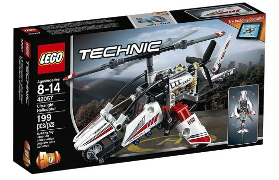 LEGO Technic Ultralight Helicopter Advance Building Set