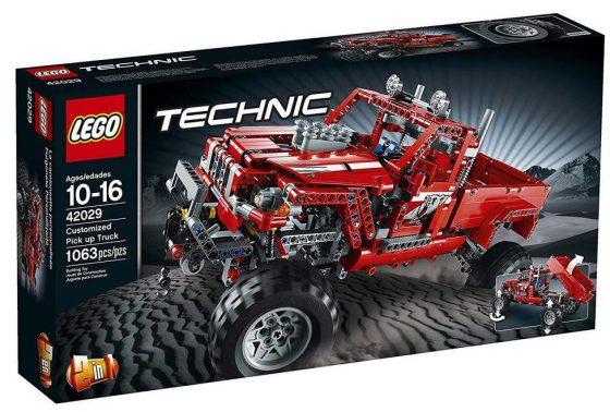 LEGO Technic Customized Pick Up Truck