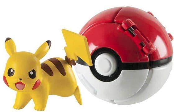 Throw 'N' Pop Pikachu and Poke Ball