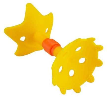 Innobaby Original Teethin Smart EZ Grip Star Teether and Sensory Toy