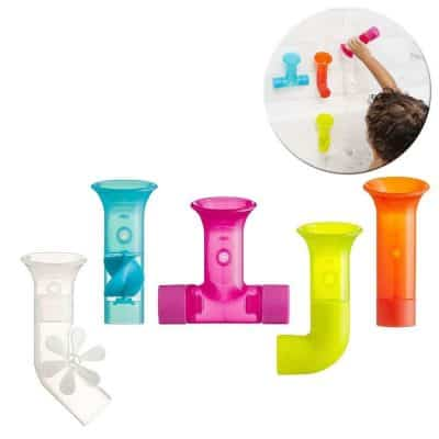 Boon Building Bath Pipes Toy Set