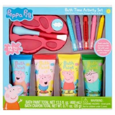 Peppa Pig Bath Time Activity Paint Gift Set