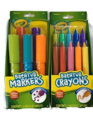 Crayola Bathtub Markers with 1 Bonus Extra Markers