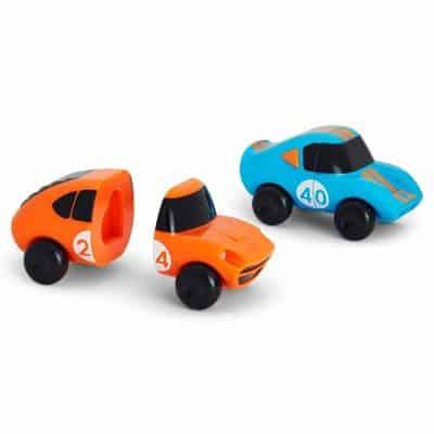 Munchkin 2 Piece Magnet Motors Mix and Match Car Bath Toy