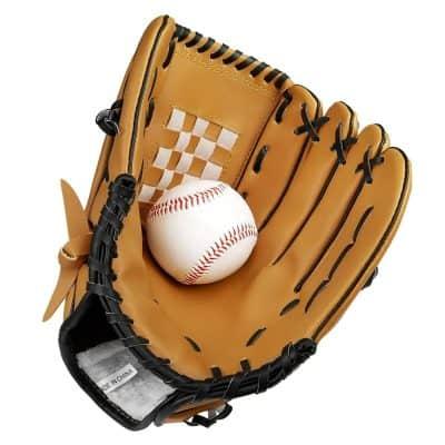 Kuyou Baseball Glove With Baseball Catcher's Mitt