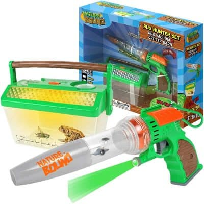 Nature Bound Bug Catcher Vacuum with Light Up Critter Habitat Case for Backyard Exploration
