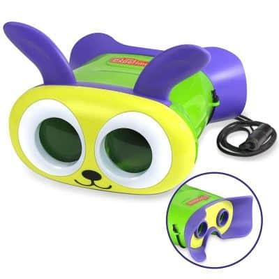 Little Experimenter Bunny Binoculars for Kids