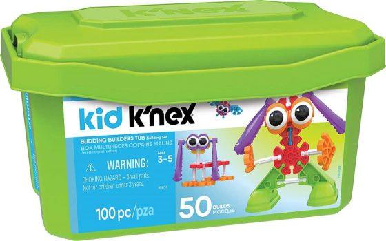 Kid K'NEX – Budding Builders Building Set – 100 Pieces