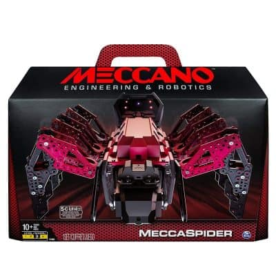 Meccano-Erector – MeccaSpider Robot Kit for Kids to Build
