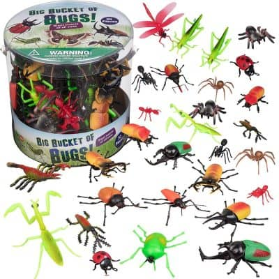 SCS Direct Bug Action Figure – 30 Giant Insects Playset