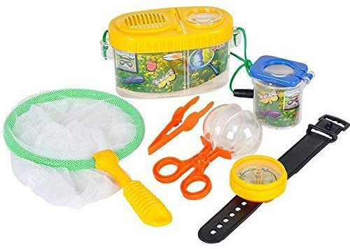 Fun Outdoor Toy Insect Bug Adventure Set; Bug Catcher Set