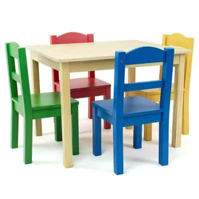 Tot Tutors Collection Kids Wood Table Set