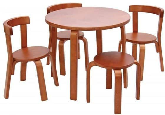 Svan Play Kids Picnic Table and Chair Set