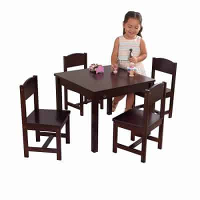 KidKraft Farmhouse Kids Picnic Table and Chair Set