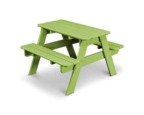 POLYWOOD Outdoor Furniture Kids Picnic Table