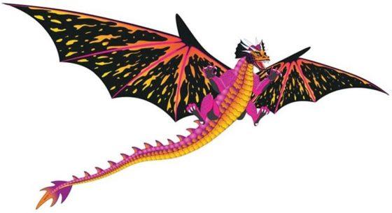 WindnSun Fantasy Fliers Dragon Kite