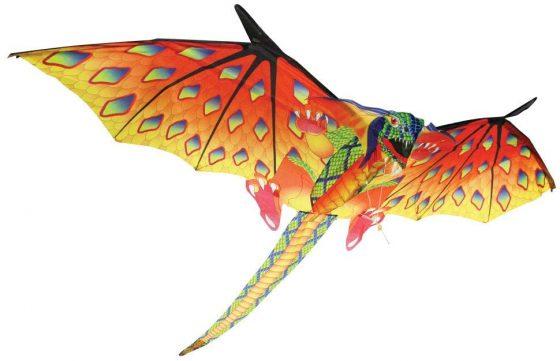Brainstorm Yellow and Green Dragon Kite