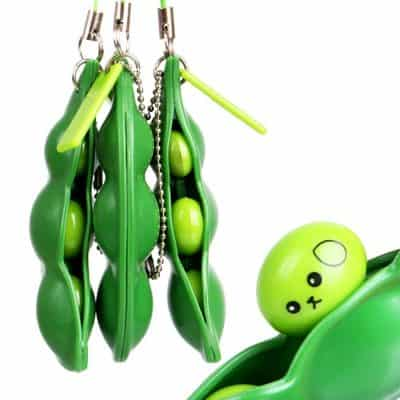 Maxboost Squeeze-a-Bean Keychain Set