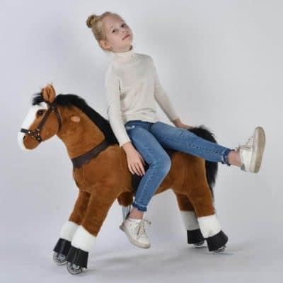 UFREE Ride On Large Baby Rocking Horse