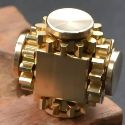 Wewinn Brass Fidget Cube