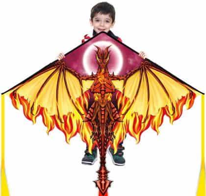 Mint's Colorful Life Dragon Kite