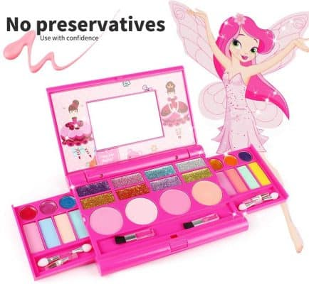 KIDCHEER Real Makeup Palette for Girls