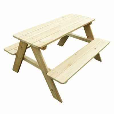 Merry Garden Wooden Kids Picnic Table