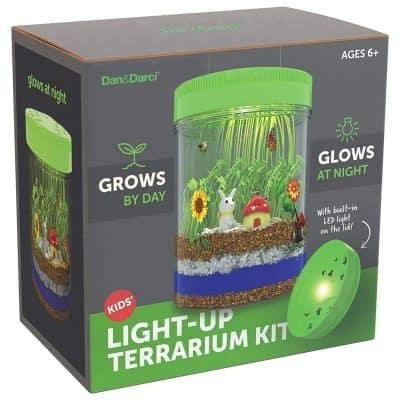 Light-up Terrarium Kit for Kids by Dan&Darci