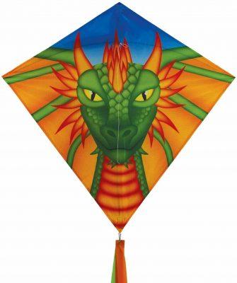 In the Breeze Dragon Diamond Kite