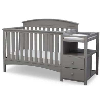 Delta Children Abby Convertible Crib and Changer