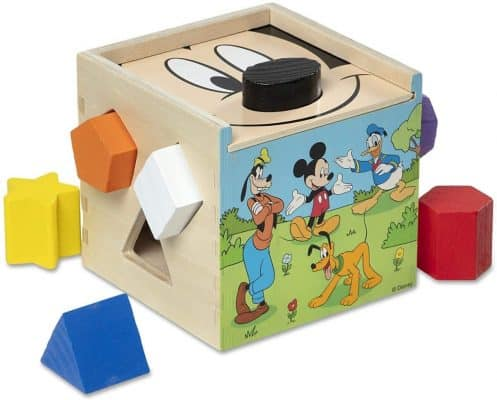 Mickey Mouse Shape Sorting Cube