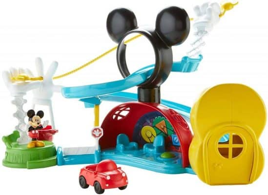 Mickey Mouse Zip, Slide & Zoom Clubhouse