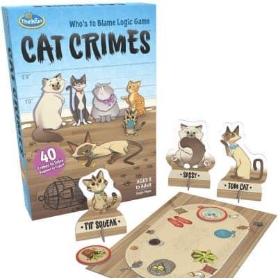 Think Fun Cat Crimes Brain Game