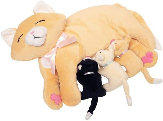 Manhattan Toy Nursing Nina Cat Toy