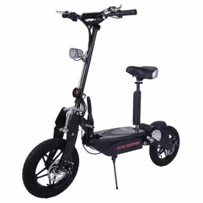 Rassine City Hopper Electric Scooter with Large Wheels