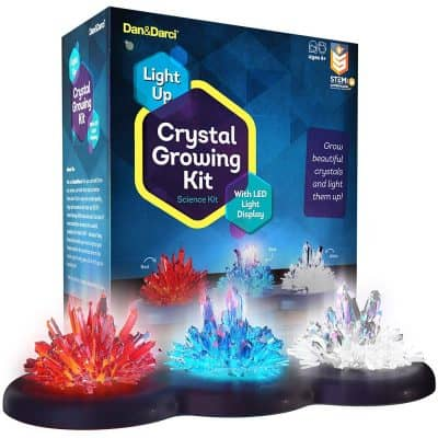 Light-up Crystal Growing Kit by Dan&Darcy