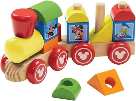 Mickey Mouse and Friends Wooden Stacking Train