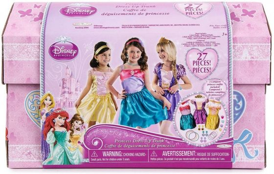 Disney Princess Dress Up Trunk Deluxe