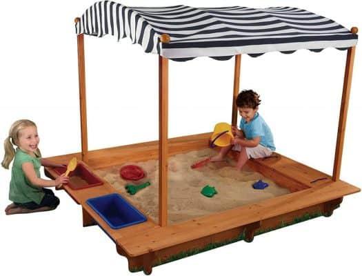 KidKraft Activity Sandbox with Canopy