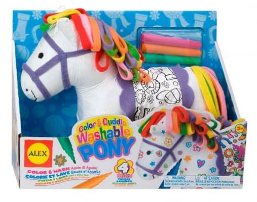 Craft Color and Cuddle Washable Pony