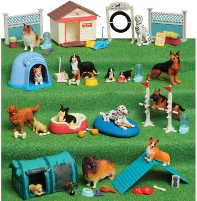 Constructive Playthings Dog Academy Playset