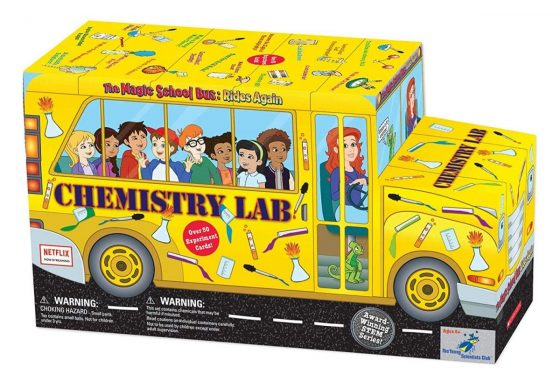 The Magic School Bus Chemistry Lab