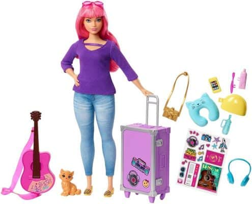 Barbie Daisy Doll and Travel Set