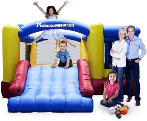 Picasso Tiles Bounce House