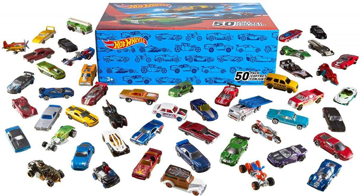 Brand new Hot Wheels Blastin/' rig Car Transporter Gift pack includes 3 cars