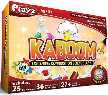 KABOOM! Explosive Combustion Science Lab Kit