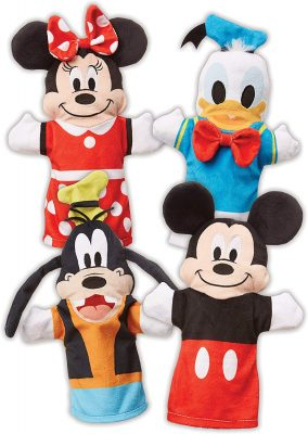 Mickey Mouse & Friends Hand Puppets